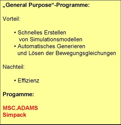 General Purpose programs